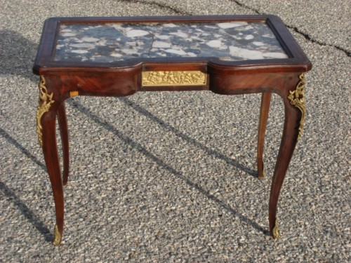 AntiqueCoffeeTableWithMarbleToppictures.jpg