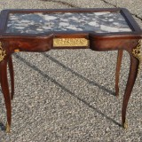AntiqueCoffeeTableWithMarbleToppictures