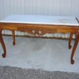 AntiqueMarbleTopCoffeeTableValue