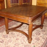 AntiqueSolidOakDiningTables