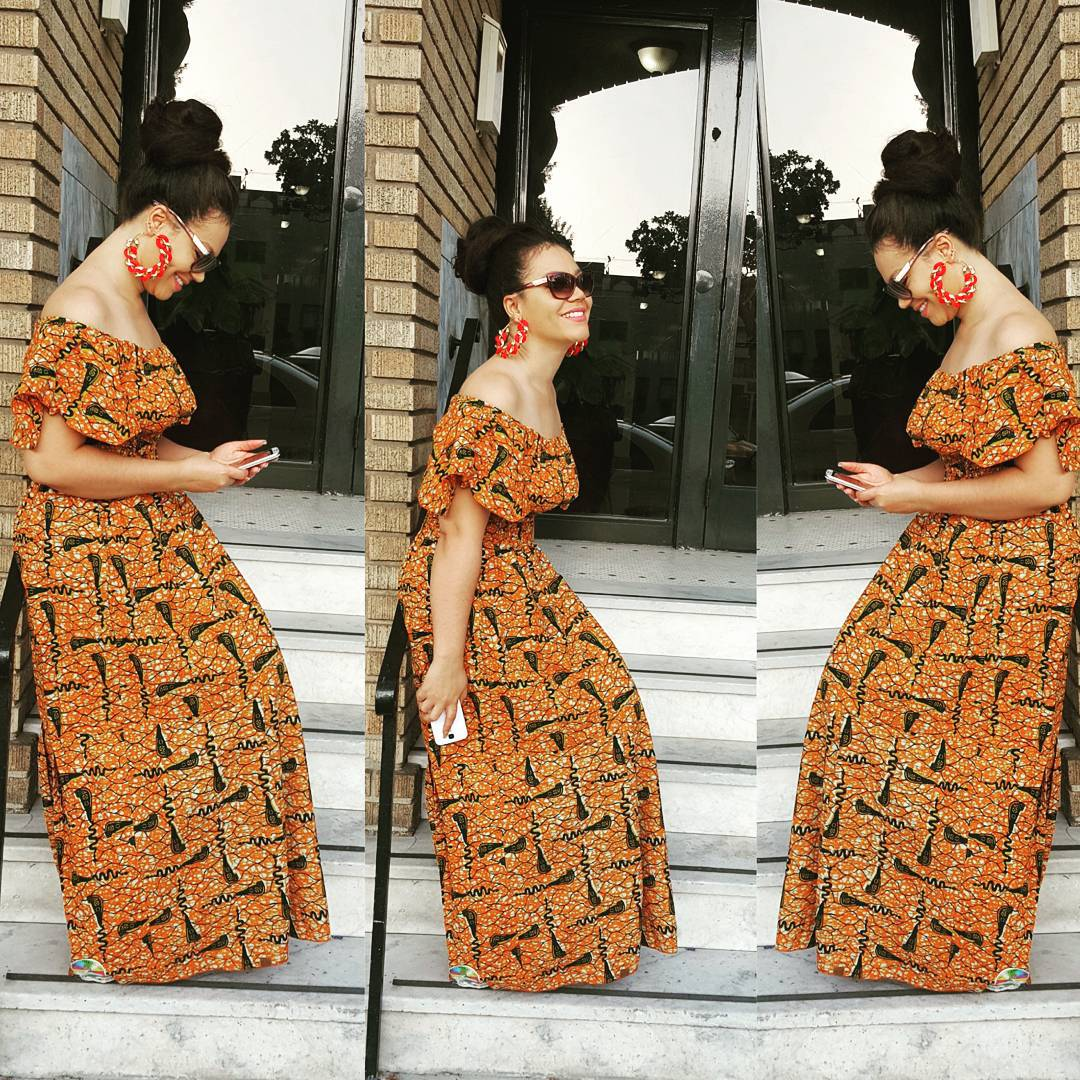 Ankara Designs And Style Ankara Full Length Gowns Ankara Floor Length Skirt Ankara Long Skirt