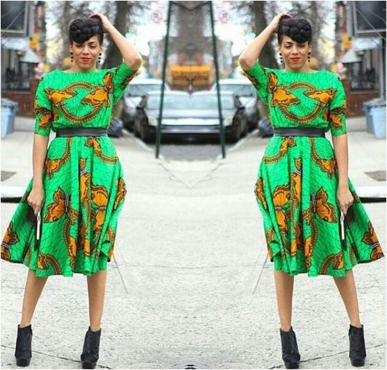 Ankara Designs And Styles Ankara Flare Gown Ankara Short