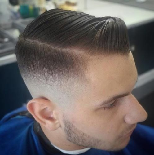 Best Comb Over Fade Hairstyles Mainly Parted Needleplus