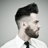 BestCombOverFadeHairstyles-bearded-men-with-fade-hairstyle
