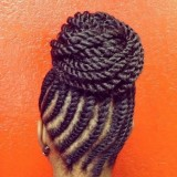BestFlat-Twists-and-a-Top-KnotcrochethavanatwistsforBlackwomen